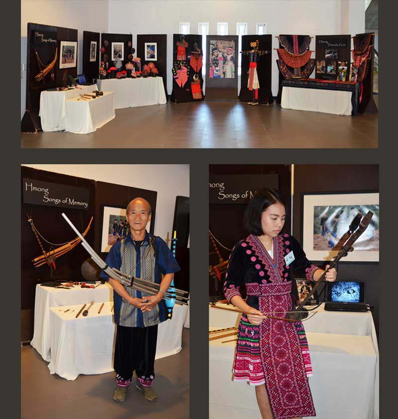 Hmong Threads of Life Exhibition